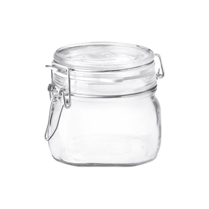 dóza 0,50l FIDO-Bormioli, patentní sklo