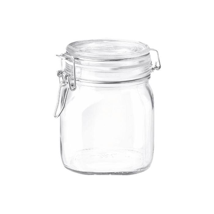 dóza 0,75l FIDO-Bormioli, patentní sklo