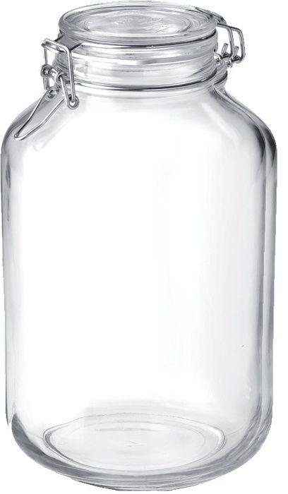 dóza 4,00l FIDO-Bormioli, d16,0x28cm, patentní sklo