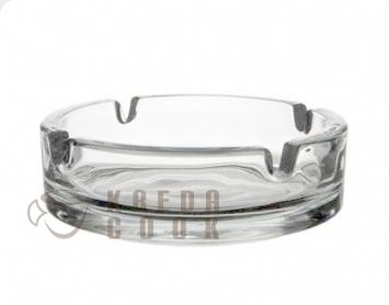 popelník 1ks d10,5cm čirý, sklo