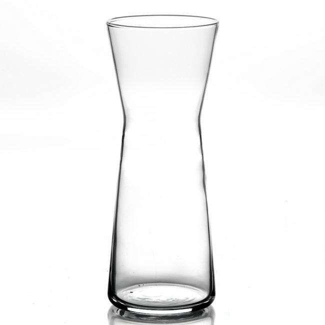 váza d10x26cm PROHNUTÁ, sklo, Pasabahce