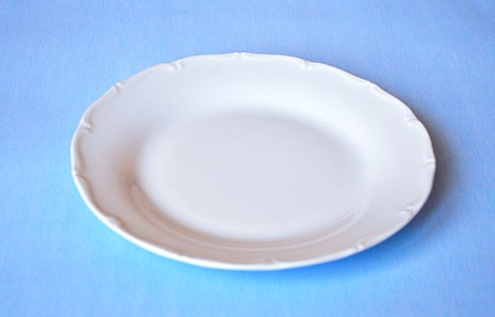 talíř d19cm dezertní, ozd.porcelán