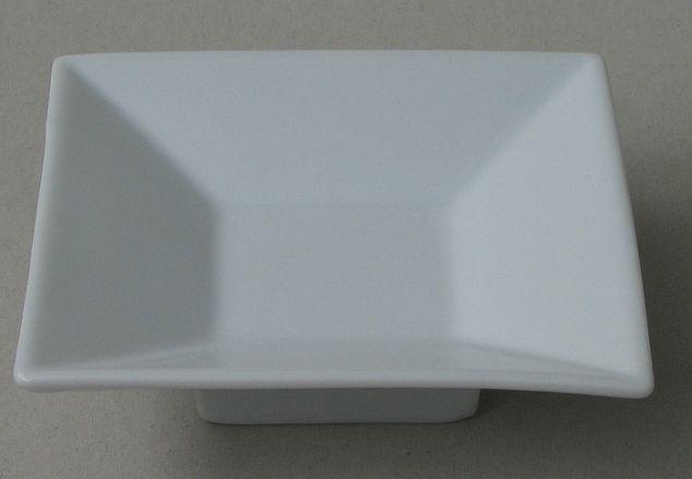 miska 11,5x11,5cm SUPERBASIC, bílá