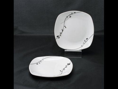 talíř d19cm dezertní, LONDRA dekor, porcelán