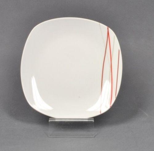 talíř d19cm dezertní, SENCILLA dekor, porcelán