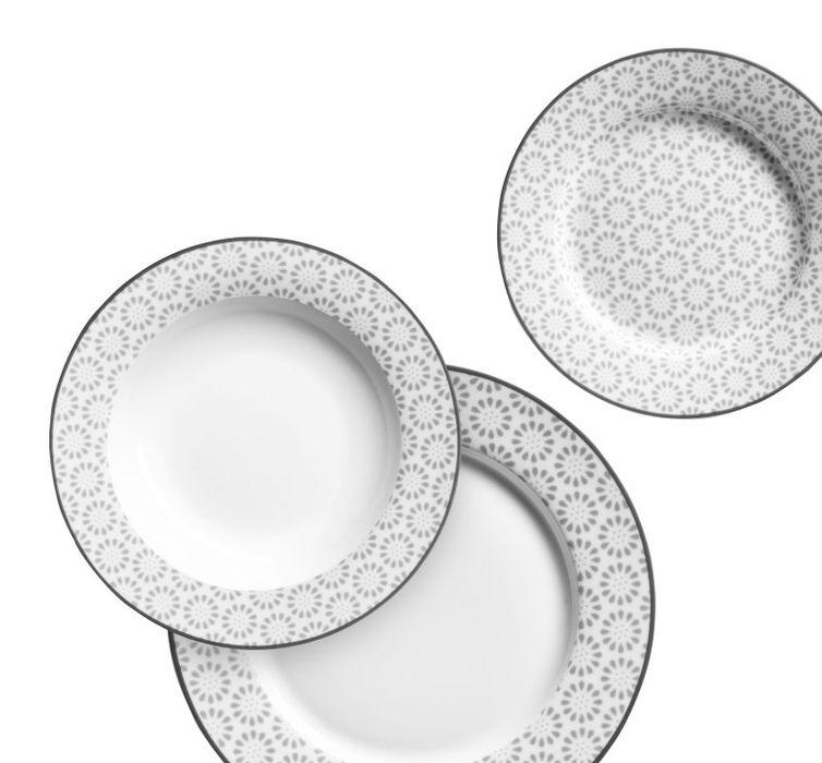 soupr.18díl.jídelní ORNATE, porcelán