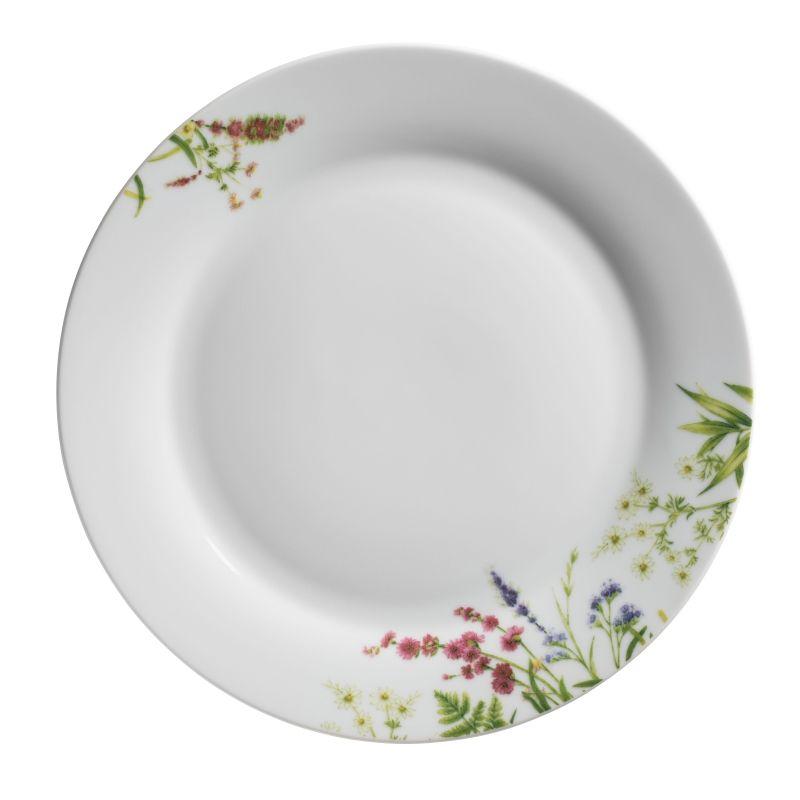 talíř d27cm mělký, HERBAL GARDEN
