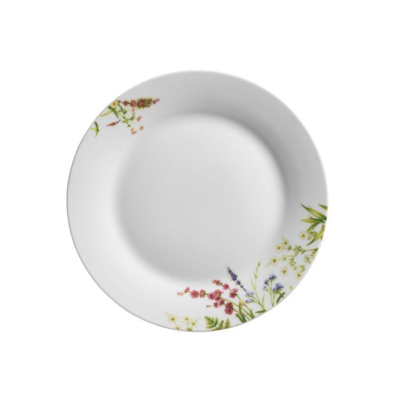 talíř d20cm dezertní, HERBAL GARDEN
