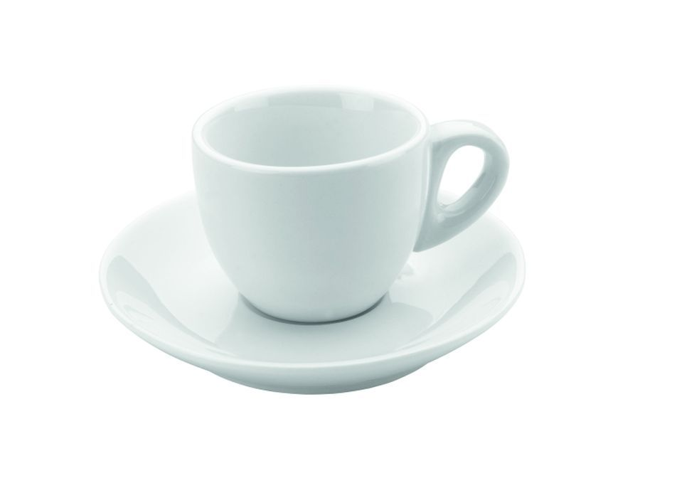 šapo  80ml, 2ks, DOMESTIC, espresso, bílý porcelán