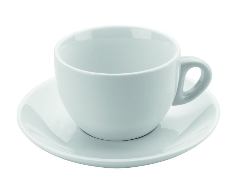 šapo 180ml, 2ks, DOMESTIC, bílý porcelán