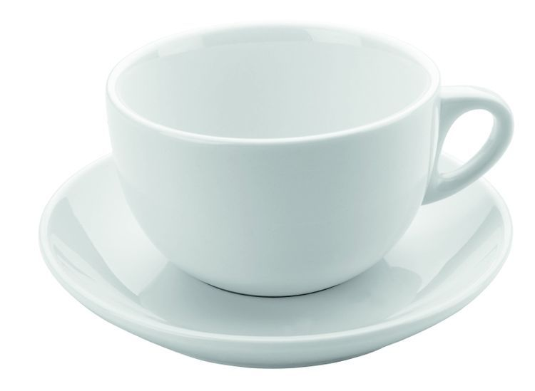 šapo 300ml, 2ks, DOMESTIC, JUMBO, bílý porcelán