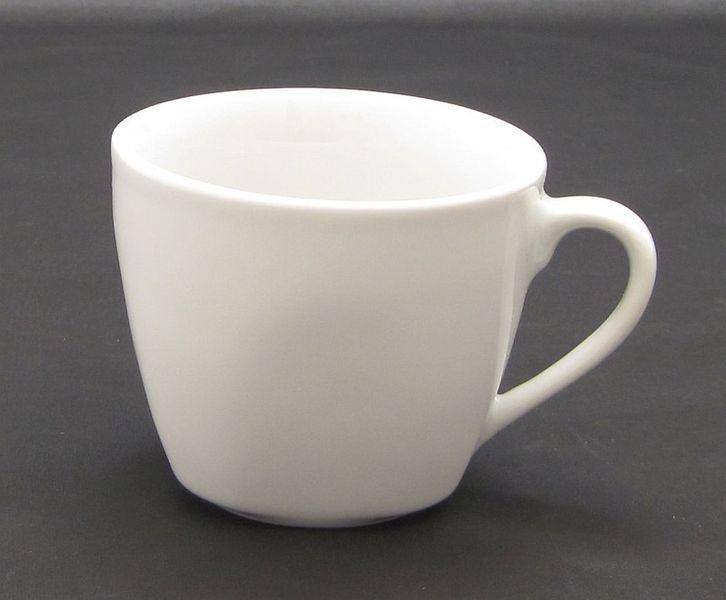 šálek 190ml, 1ks, COSMO, bílý porcelán