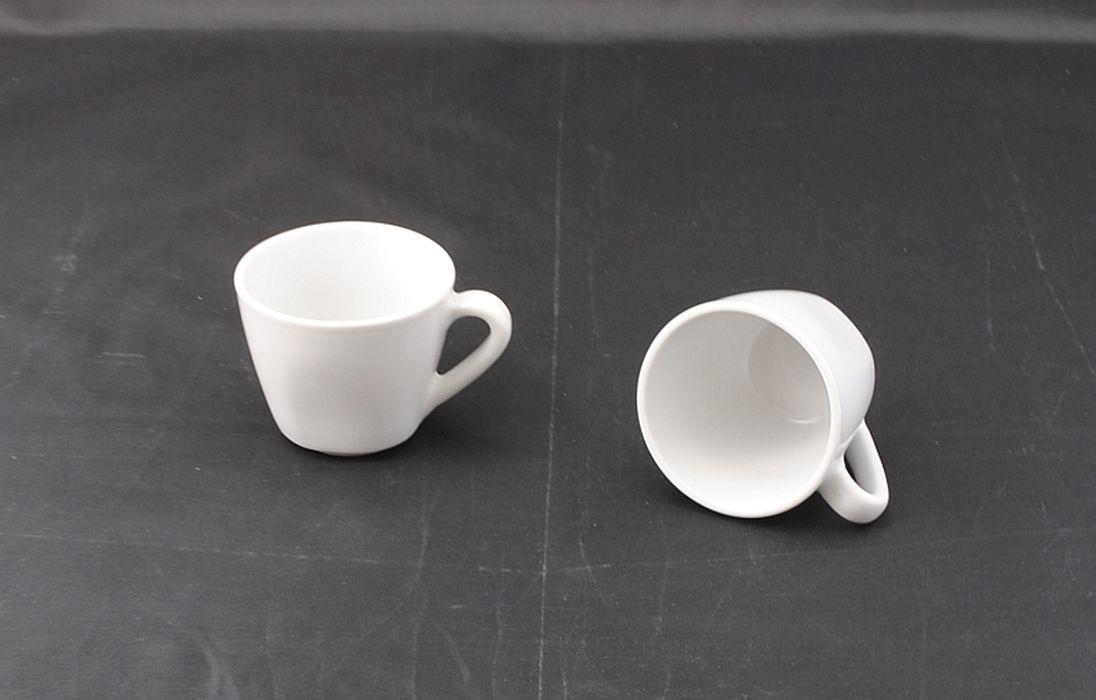 šálek  90ml, 1ks, COSMO, espresso, bílý porcelán