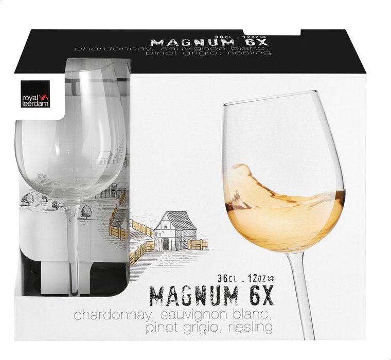 sklen. 360ml, 6ks, MAGNUM BOUQUET, víno