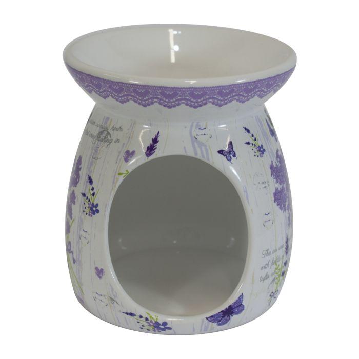 lampa-aroma 10,5cm LEVANDULE-NOVÁ, keramika