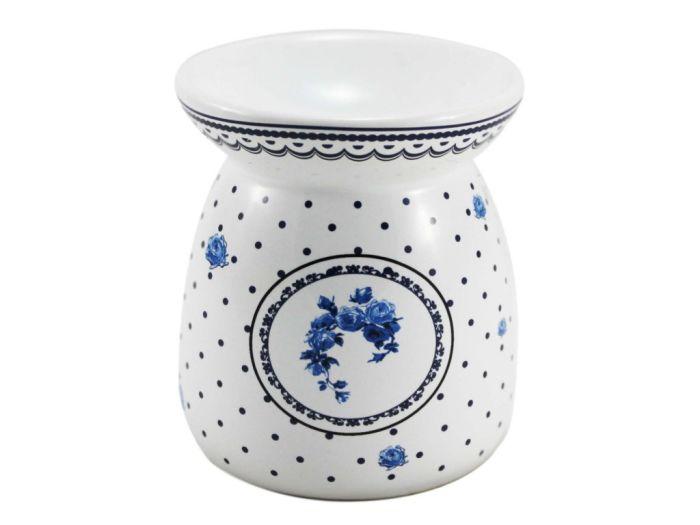 lampa-aroma d9,2x10,6cm ELEGANT modrá,keramika