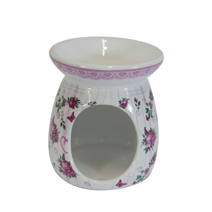 lampa-aroma d9,2x10,6cm RŮŽE, keramika