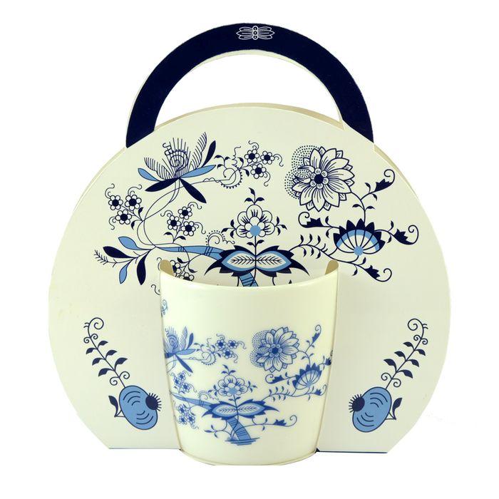 hrnek 300 ml, Cibulák, porcelán