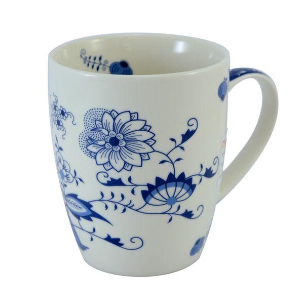 hrnek 340 ml,  Cibulák, porcelán