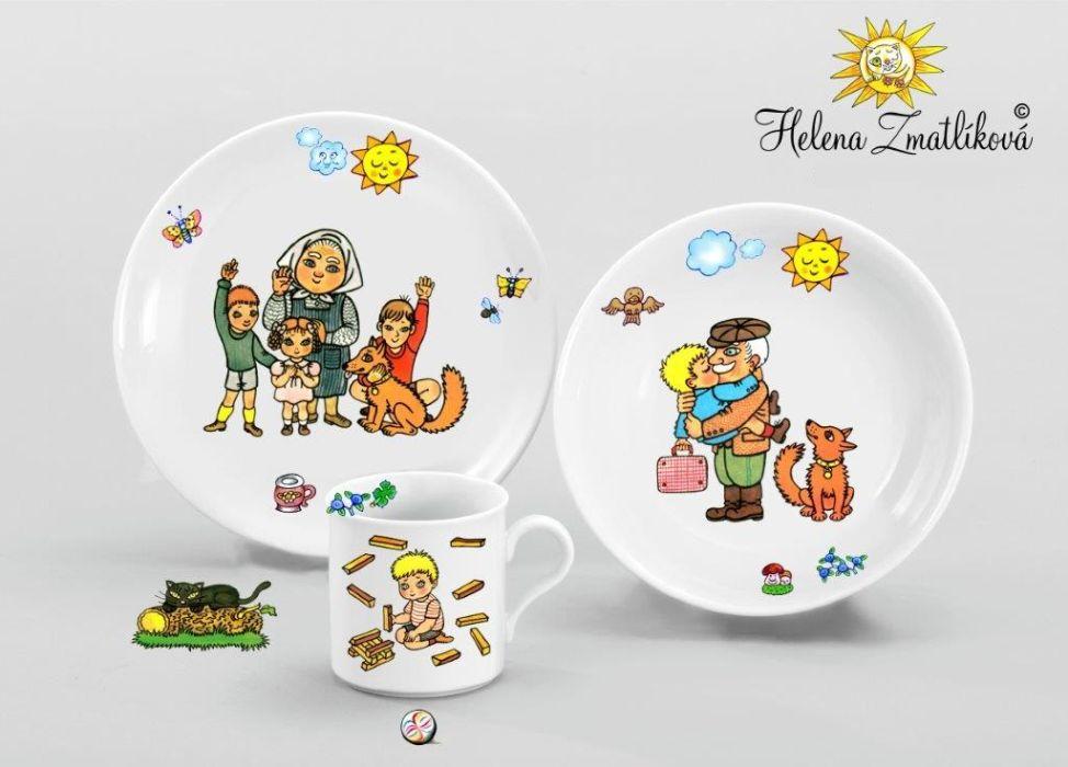 soupr.3d.HONZÍKOVA cesta,děts.jídel.typ B,český porc.