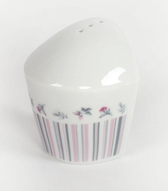 slánka-kořenka, VL 043, růže-proužek, čes.porcelán