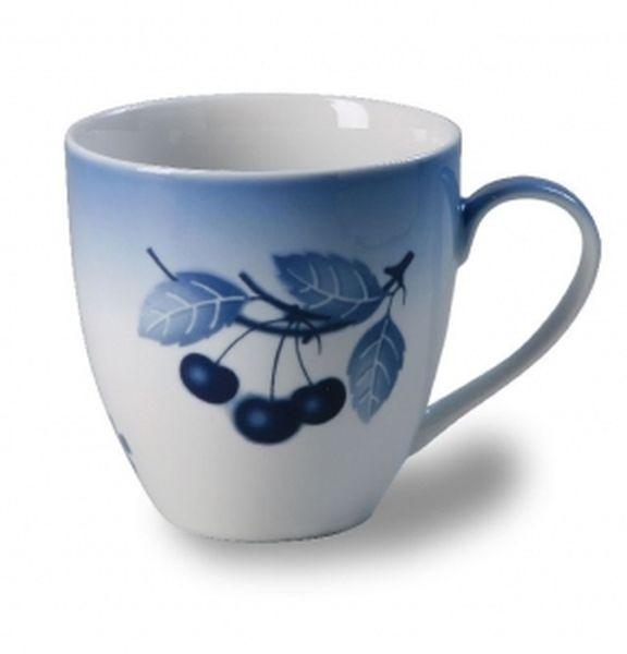 hrnek 670ml KLÁRA, modré třešně, čes.porcelán
