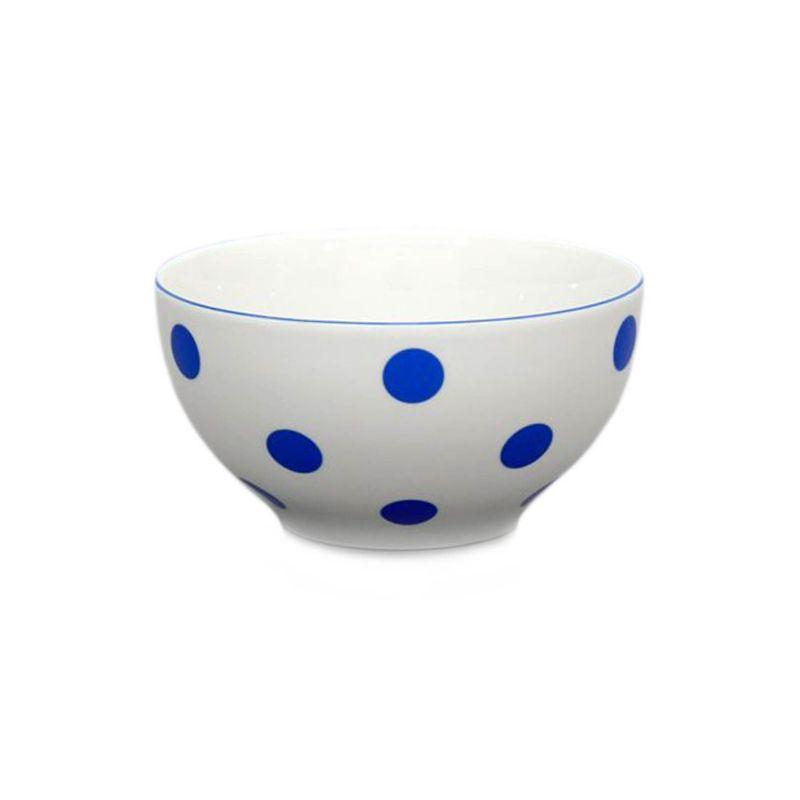 miska d14,5cm polév.modrý puntík-1.jak.THUN,porcel.