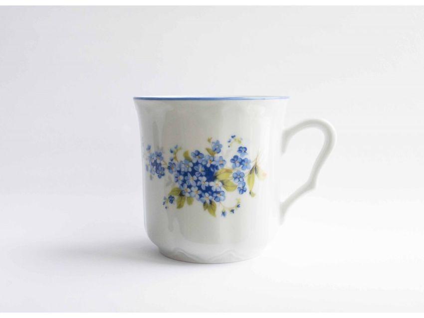 hrnek 270ml KAREL-POMNĚNKY modré, čes.porcelán