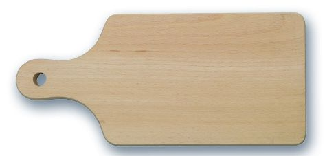 prkénko 27x12x1,6 dřevo s ručkou