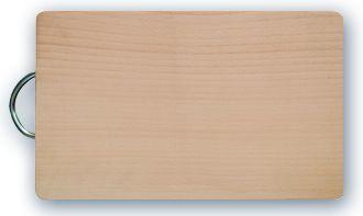 prkénko 27,5x18,5x1,5 dřevo+kov.ruk.
