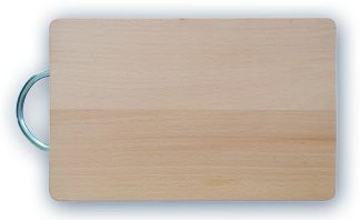 prkénko 32,5x21x1,5 dřevo+kov.ruk.