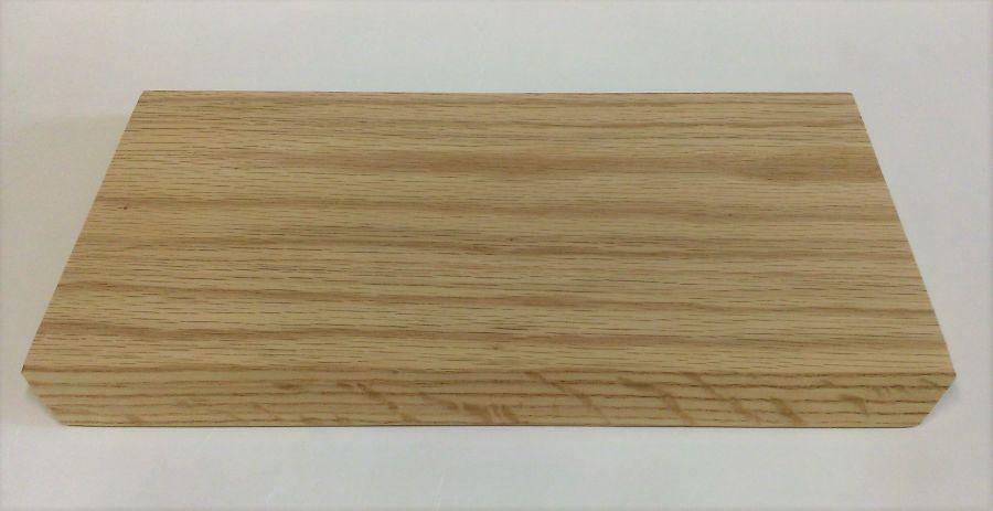 prkénko 31,5x17cm, zkos.hrany, dub
