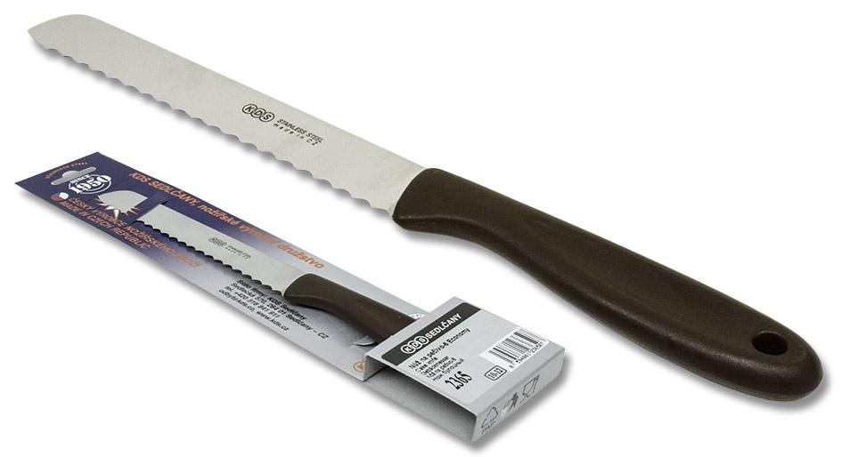nůž-2365-ECONOMY LINE pečivo 6, NR/plast