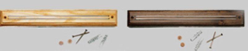 lišta 32x4,5cm magnet.na nože 8251,dřevo