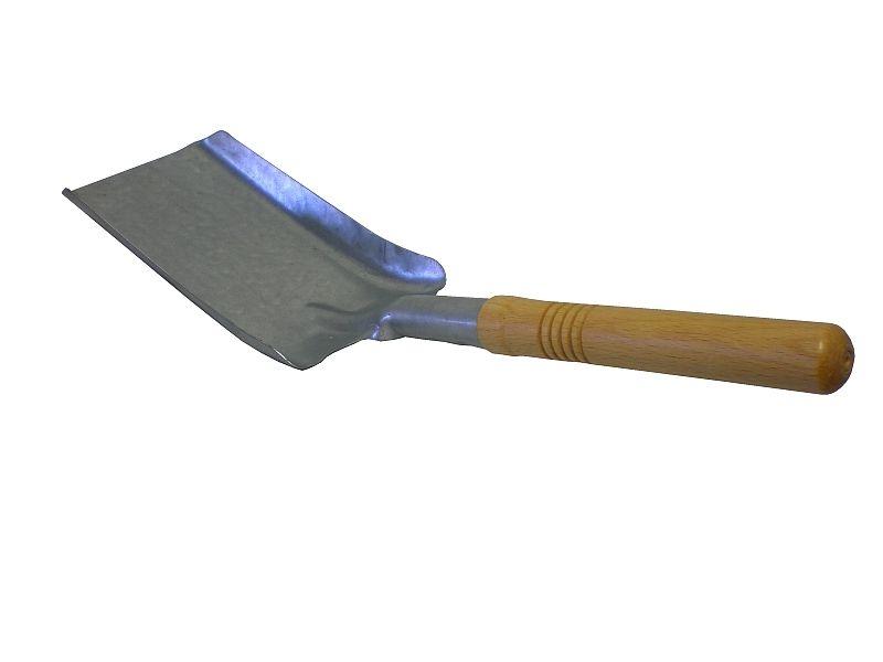 lopatka uhlí pozink.+dřev.násada