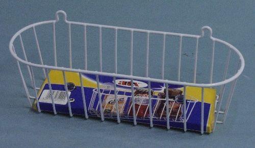 police koup.1p.košík bílá 35x13x11cm(16.12.09)-kov