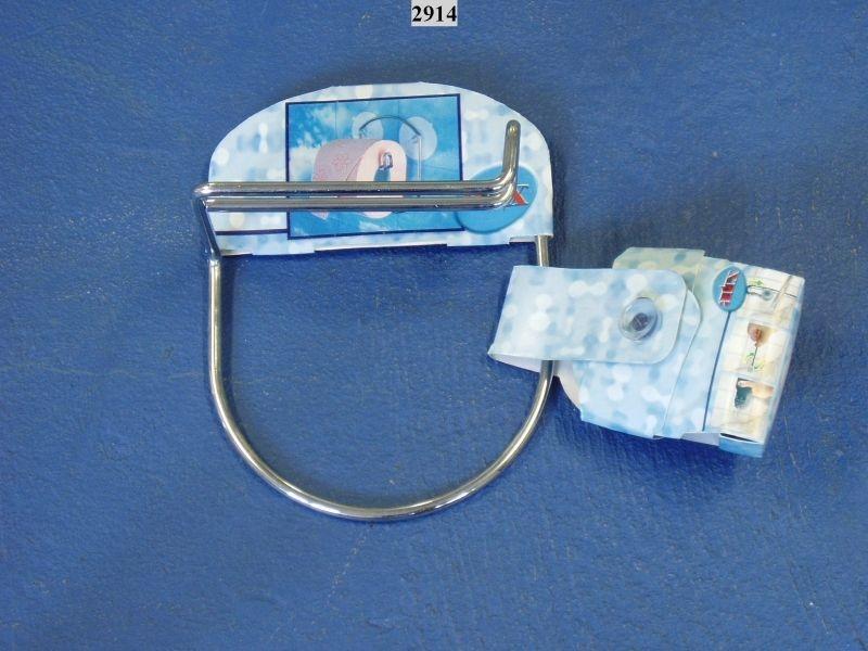 držák WC papíru,kov.závěs+2přís.(29.14.15)