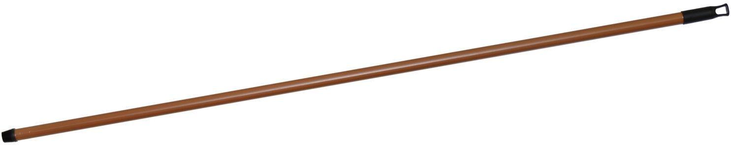hůl 130cm kov, imit. dřeva, jemný závit