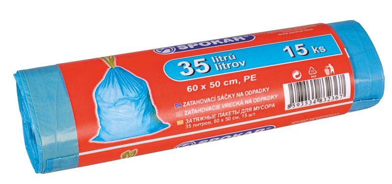 sáčky odp. 35l-15ks-zatahovací