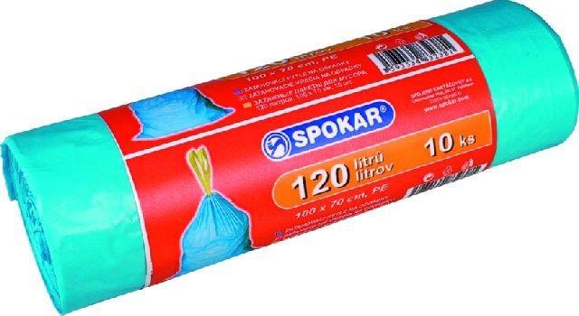 sáčky odp.120l-10ks-zatahovací