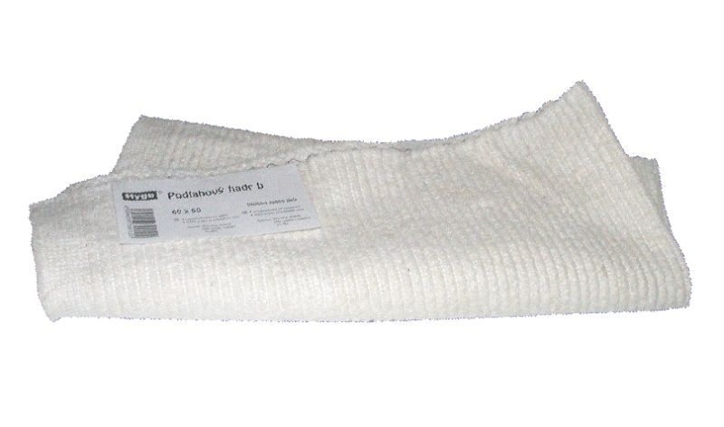 hadr 60x50cm bílý podlahový