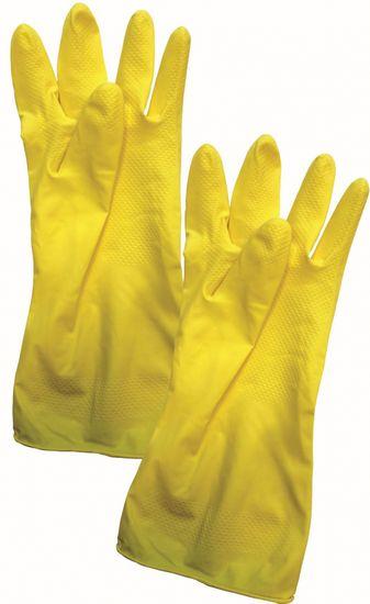 rukavice 1 pár, STANDARD vel. 7-S, latexové
