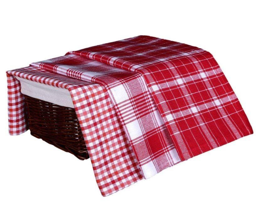 utěrka 3ks 70x45cm-4200-červ.kuch., 100% bavlna