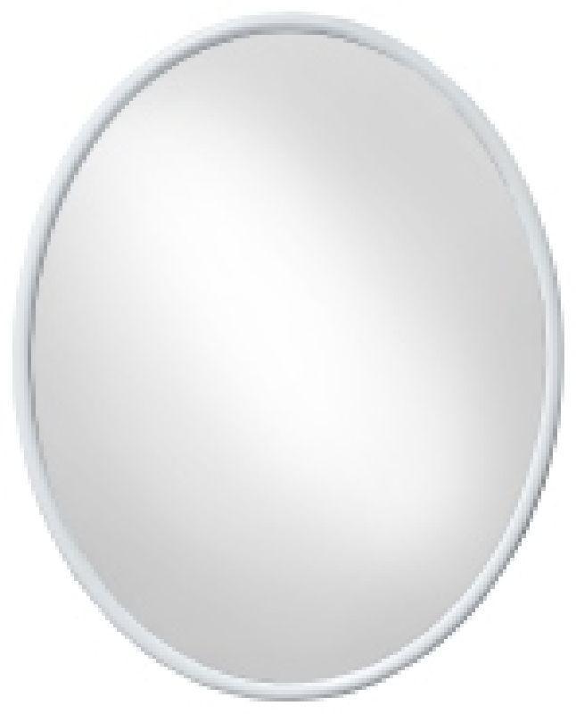 zrcadlo 50x40cm elipsa, BERTÍK, bílé