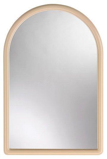 zrcadlo 40,0x30cm portál, KAČENKA, béžové