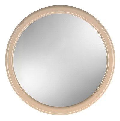 zrcadlo d40cm KUBA béžové