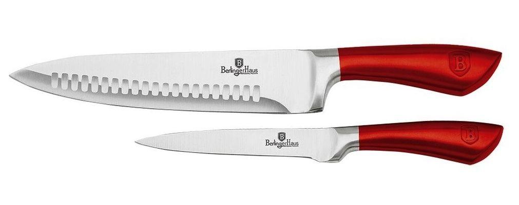 sada nožů 2ks BURGUNDY Met.Line