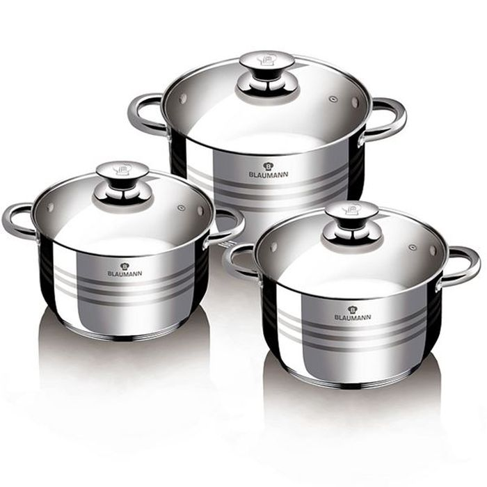 sada nádobí  6ks Gourmet line NR