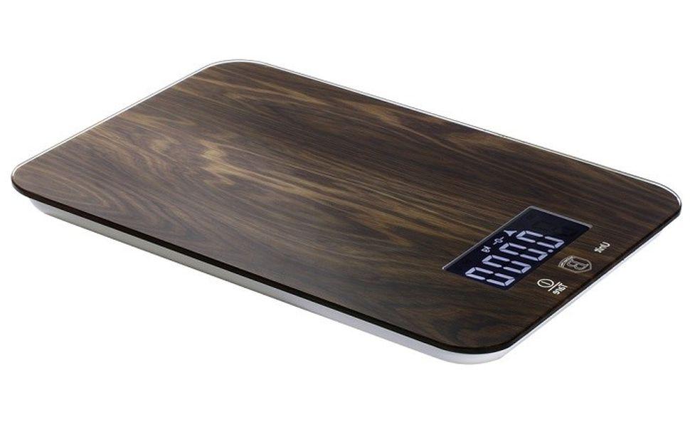 váha  5kg kuch.dig., FOREST Ebony Rosew. 14x21,5x1,5cm