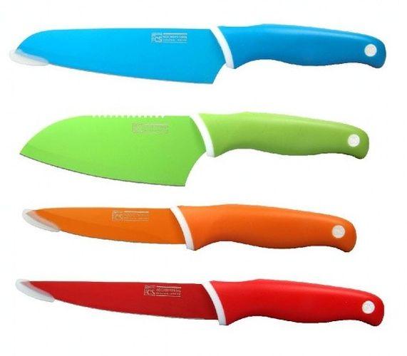 sada nožů 4ks GOOD4U, barev.nepřilnavých